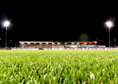 Nachtgras bij Almere City FC - FC Den Bosch (4-1), 17 september 2016