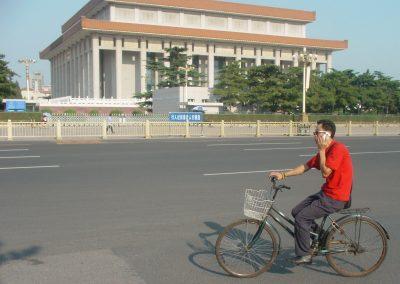 fietsen en bellen
