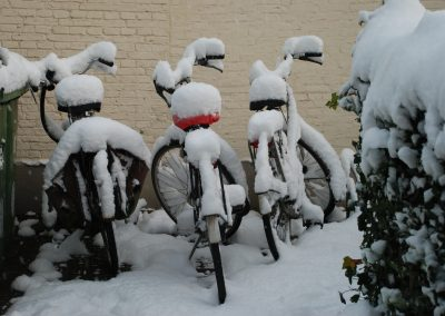sneeuwfietsies