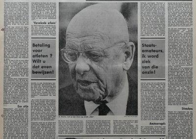 Ad Paulen (12-10-1902 + 9-5-1985), 29 augustus 1981