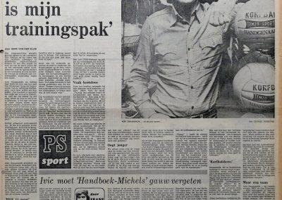 Adri Zwaanswijk, 22 mei 1976