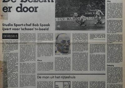 Bob Spaak (11-9-1919 + 11-6-2011), 10 maart 1979