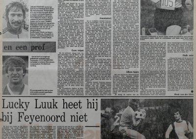 Gerard Tebroke (9-11-1949 + 19-3-1995) en Luuk Balkestein, 2 januari 1982