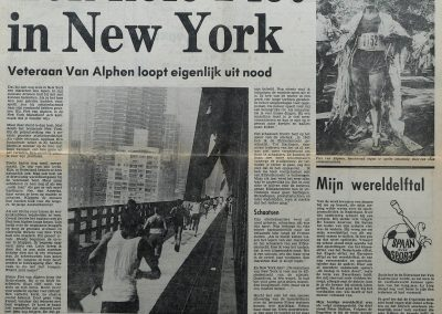 Piet van Alphen ( +25-6-1987)in New York, 27 oktober 1979