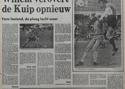 Van Hanegem terug in de Kuip, 1 augustus 1981