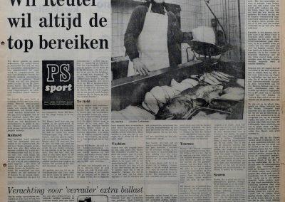 Wil Reuter, 28 februari 1976